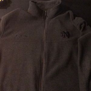 Columbia Notre Dame fullzip fleece jacket